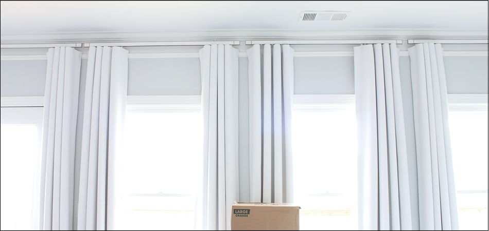 Decorative Curtain Track